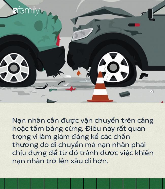 Thấy có người bị tai nạn giao thông, sơ cứu thế nào mới đúng cách để cứu sống? - Ảnh 3.