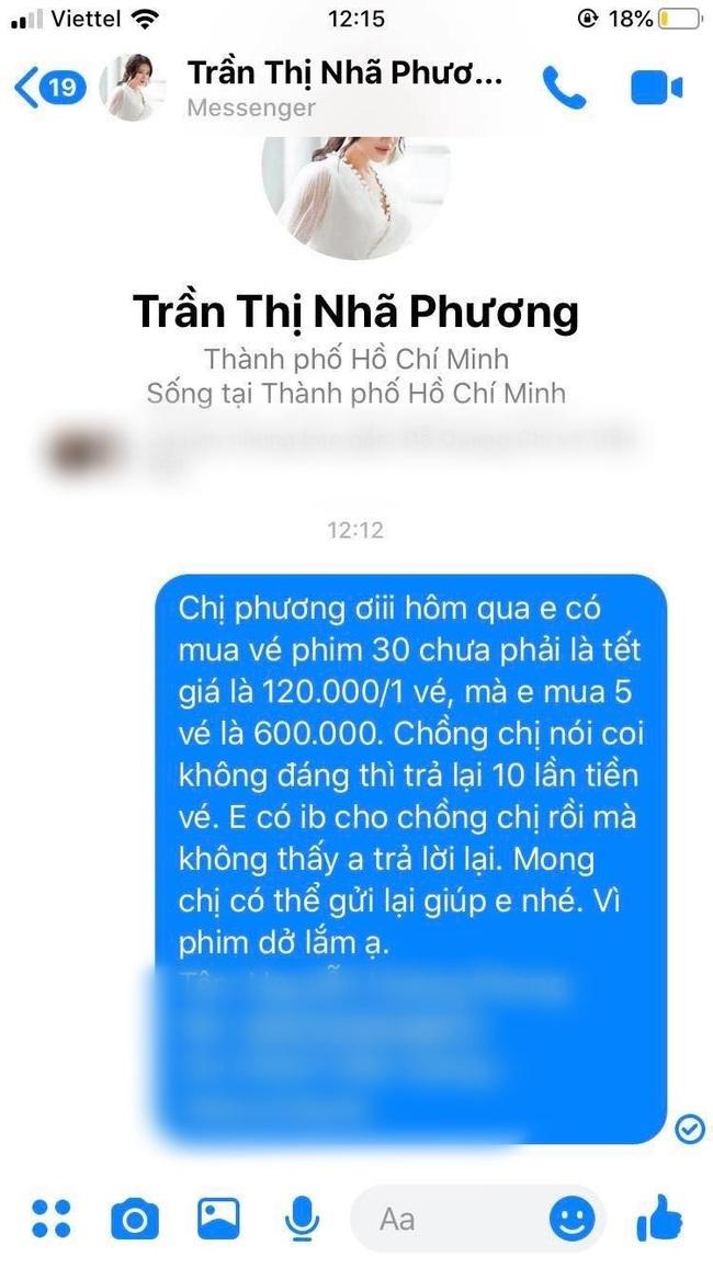 """""""30 chưa phải Tết"""" của Trường Giang bị chê dở tệ, khán giả ồ ạt nhắn tin cho Nhã Phương đòi lại 6 triệu tiền vé  - Ảnh 3."""