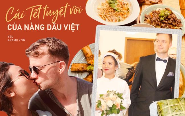 """Đang bầu 2 tháng vẫn """"cua"""" được trai độc thân ngoại quốc, người phụ nữ Việt tiết lộ hình ảnh ăn Tết trên đất Đức với sự """"tạo điều kiện"""" hết mực của ông xã - Ảnh 1."""