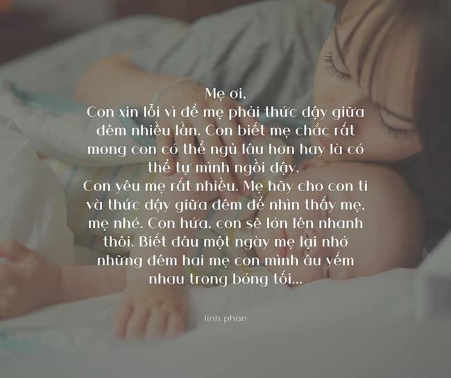 Con được sinh ra để bế bồng, ủ ấm chứ không phải để... ngủ xuyên đêm - Ảnh 1.