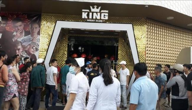 Sập vũ trường King Night Club ở Vũng Tàu: Nhiều người mắc kẹt, ít nhất 6 người nhập viện cấp cứu - Ảnh 1.
