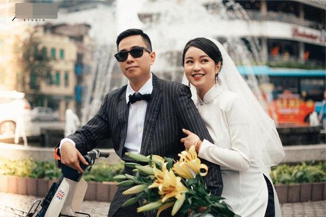 Cựu hot girl Mi Vân khoe ảnh cưới mộc mạc và tinh tế đậm chất Hà Nội, nhan sắc kiêu kỳ của cô dâu chiếm trọn spotlight - Ảnh 1.