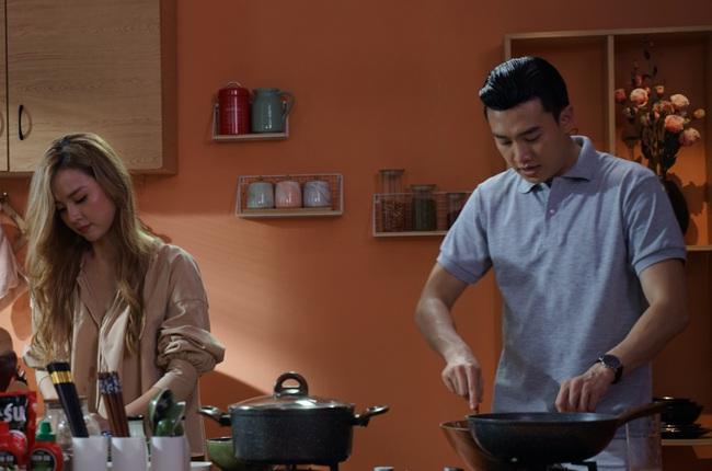 Đã điển trai còn nấu ăn ngon bảo sao Midu lại thích thú đến vậy khi đến nhà thưởng thức bữa tối do chính Quốc Trường tự tay vào bếp - Ảnh 5.