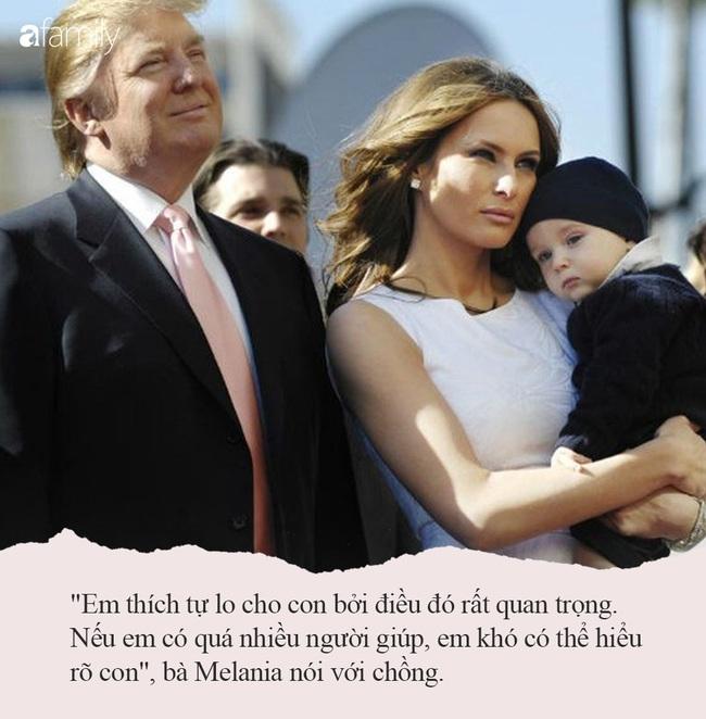 Từng nhiều lần bị công chúng chê cười nhưng khi Melania Trump nói ra quan điểm dạy trẻ của mình, ai cũng đồng tình, vỗ tay khen ngợi - Ảnh 6.