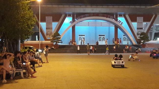 Người phụ nữ la hét, tố bị cướp, hiếp dâm trong nhà vệ sinh Trung tâm Văn hóa Lao động tỉnh Bình Dương - Ảnh 1.