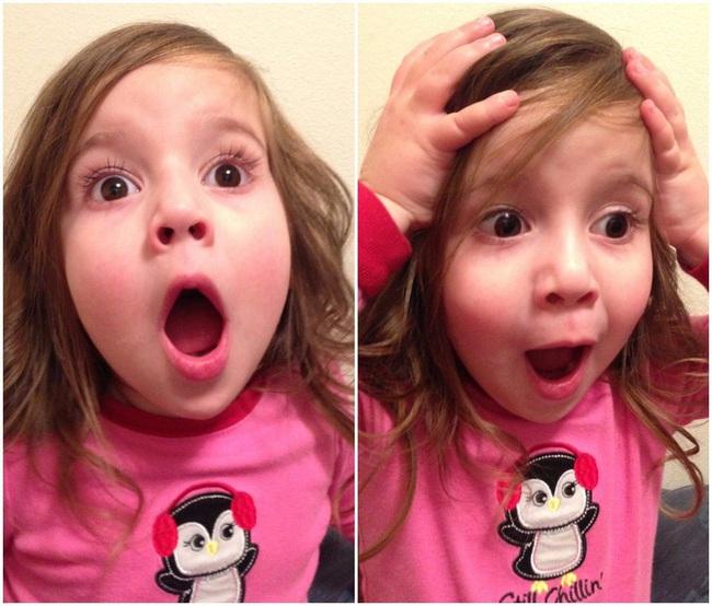 101 cách biểu cảm hài hước của trẻ khiến ai xem cũng phải phì cười - Ảnh 1.