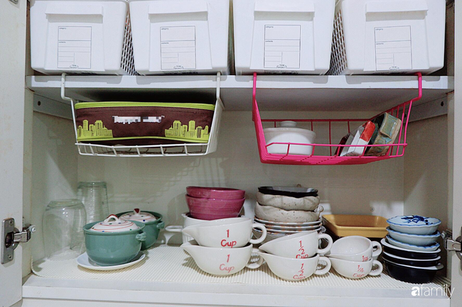 Căn bếp nhỏ xíu xây nhiều năm vẫn gọn đẹp như mới ở TP. HCM - Ảnh 8.