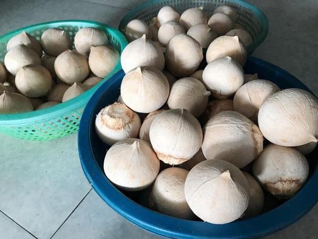 Cận Tết, bà nội trợ Việt nhà nhà mua cùi dừa non 70 ngàn đồng/kg làm mứt, tiểu thương ngày bán cả tạ  - Ảnh 10.