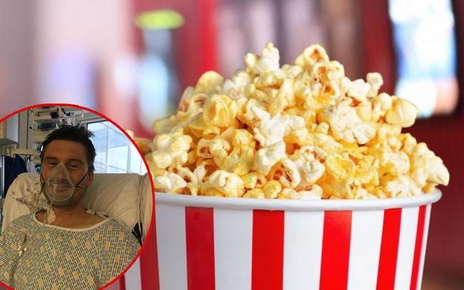 Ăn bỏng ngô khi đi xem phim để rồi suýt chết vì nhiễm trùng tim: Đừng bao giờ dại dột làm thế này khi bị mắc răng - Ảnh 1.