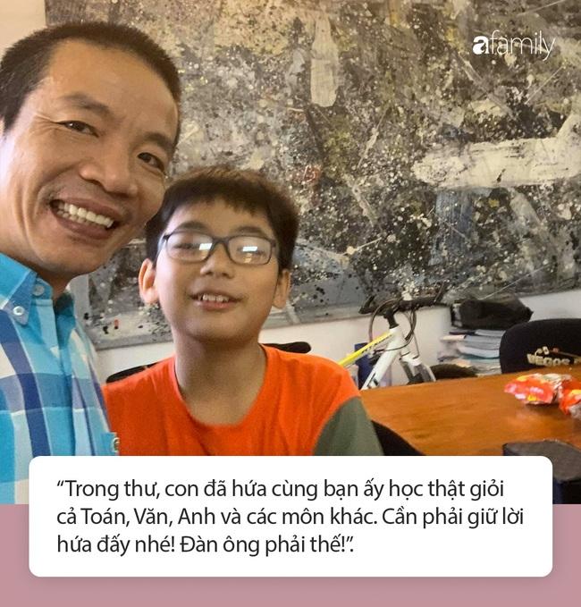 """Thư tay """"xịn xò"""" của nhạc sĩ Nguyễn Vĩnh Tiến gửi con trai với nét chữ đẹp gây thương nhớ, đọc nội dung còn khiến người ta trầm trồ hơn - Ảnh 5."""
