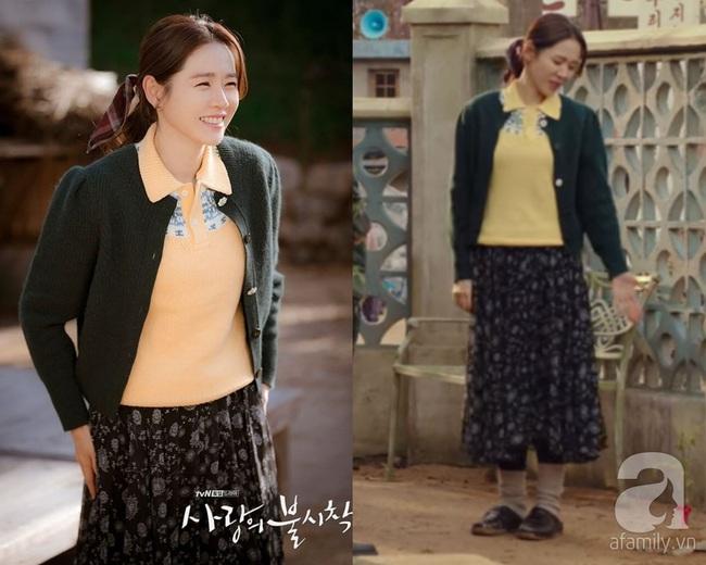 """Crash Landing On You: Ngắm Son Ye Jin chợt nhận ra combo váy áo dễ biến chị em thành """"bà cô"""", nàng ngoài 30 càng phải lưu tâm - Ảnh 2."""