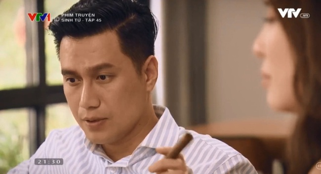 """""""Sinh tử"""" tập 44: Trao nhân tình cho Chí Nhân """"vui chơi qua đường"""", Việt Anh nói lời tiếc nuối khiến Quỳnh Nga bật khóc - Ảnh 2."""