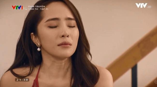 """""""Sinh tử"""" tập 44: Trao nhân tình cho Chí Nhân """"vui chơi qua đường"""", Việt Anh nói lời tiếc nuối khiến Quỳnh Nga bật khóc - Ảnh 3."""
