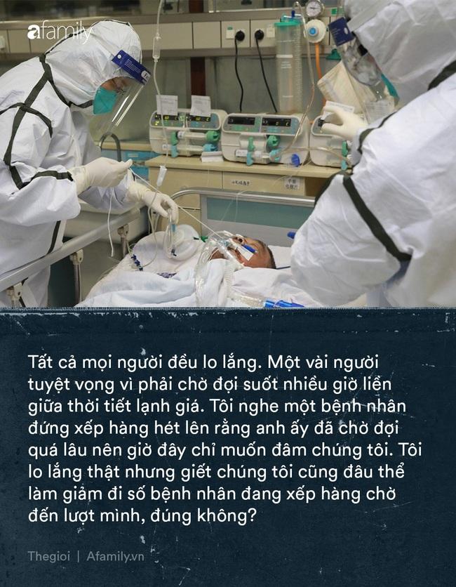"""Tận lực chiến đấu với bệnh tật, y bác sĩ Vũ Hán còn đối mặt với khó khăn từ thiếu trang thiết bị đến nỗi khổ """"thù trong giặc ngoài"""" khó ai thấu - Ảnh 1."""