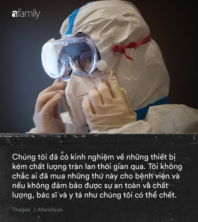 """Tận lực chiến đấu với bệnh tật, y bác sĩ Vũ Hán còn đối mặt với khó khăn từ thiếu trang thiết bị đến nỗi khổ """"thù trong giặc ngoài"""" khó ai thấu - Ảnh 3."""