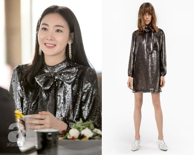"""Xuất hiện vài phút trong """"Hạ Cánh Nơi Anh"""", Choi Ji Woo đem đến đẳng cấp khác hẳn cho chiếc đầm 22 triệu, đẹp ăn đứt người mẫu - Ảnh 6."""