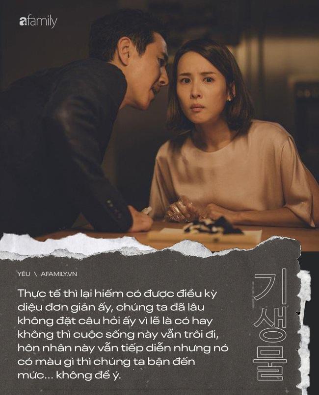 """Câu hỏi day dứt trong phim Ký Sinh Trùng mà mỗi người nên tự vấn để hôn nhân không là cảnh """"người dưng ở chung 1 nhà"""" - Ảnh 1."""