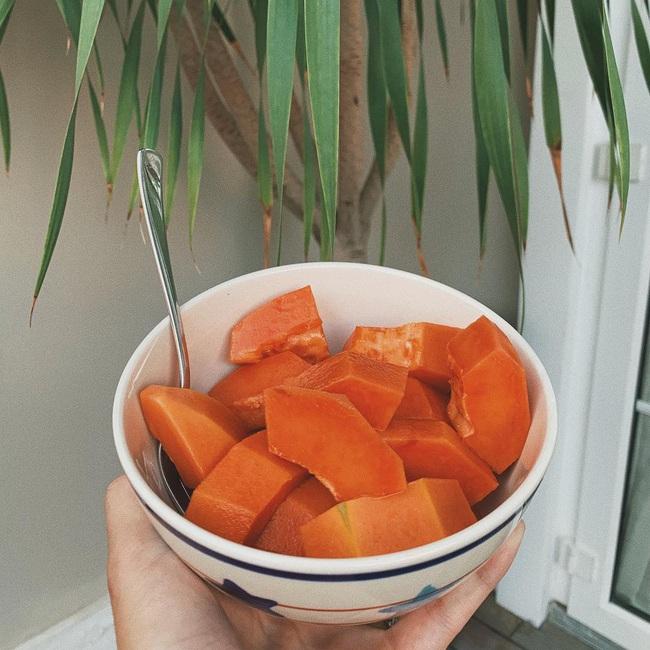 Ăn đu đủ vào bữa sáng như Hà Tăng hoặc tại thời điểm này sẽ giúp chị em giảm cân, giữ dáng thần sầu - Ảnh 3.