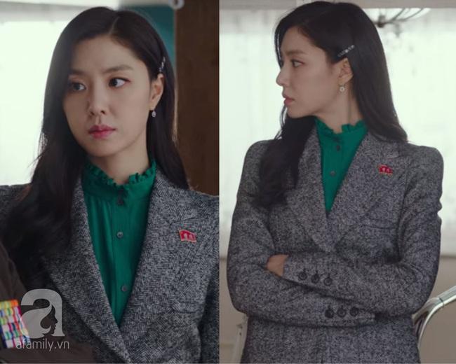 Ít ai để ý, chính những thiết kế cổ áo này đã giúp điểm sang chảnh của Seo Ji Hye (Hạ Cánh Nơi Anh) tăng theo cấp số nhân - Ảnh 3.
