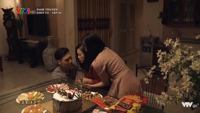 """""""Sinh tử"""" tập 61: Quỳnh Nga cố chấp muốn cướp Chí Nhân làm chồng, nhõng nhẽo vì không được """"qua đêm""""  - Ảnh 8."""