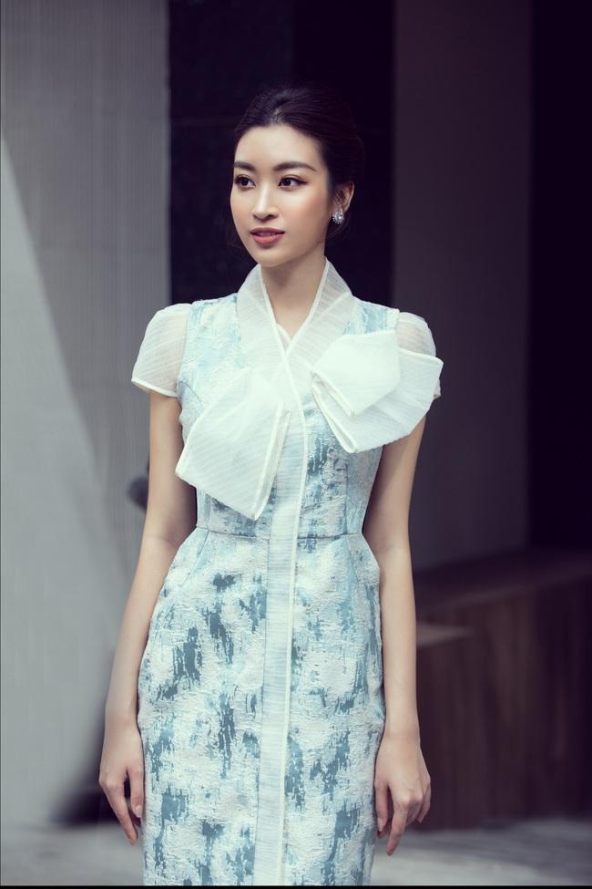 """Sau khi """"xuống tóc"""", Hoa hậu Lương Thùy Linh trông càng giống Đỗ Mỹ Linh - Ảnh 2."""