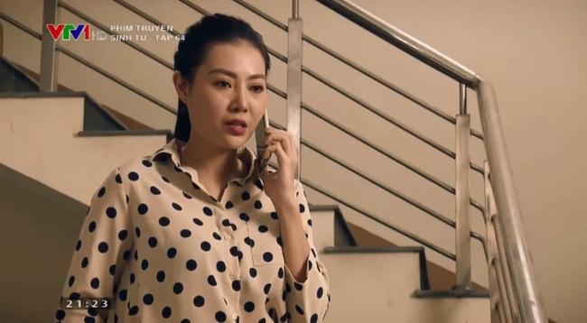 """""""Sinh tử"""" tập 64: Thanh Hương """"dính phốt"""", Việt Anh đắc chí ăn mừng vì loại được cái gai trong mắt - Ảnh 8."""