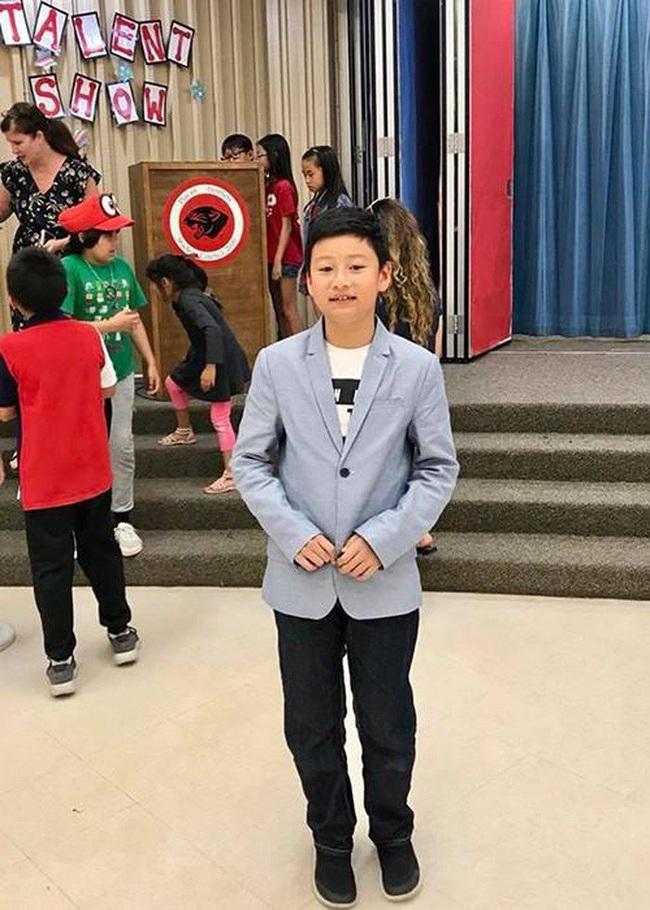 Con trai của Quang Dũng và Jennifer Phạm đón sinh nhật tuổi 12, ngoại hình của cậu bé mới gây bất ngờ - Ảnh 4.