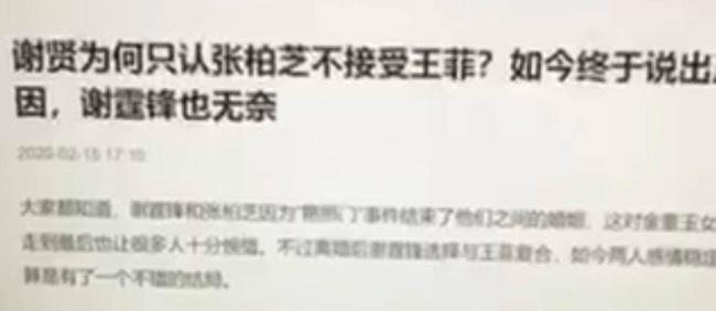 """Lộ lý do cha Tạ Đình Phong chỉ chấp nhận Trương Bá Chi làm con dâu, netizen cảm thán: """"Vương Phi đúng là không có cửa vào nhà họ Tạ"""" - Ảnh 2."""