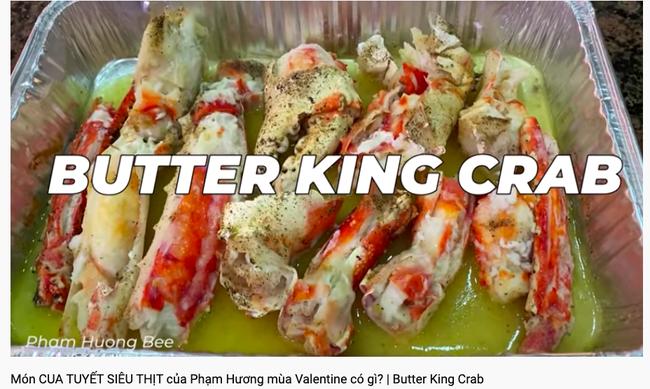 """Lại thêm một màn """"hack não"""" khó lường đến từ Hoa hậu Phạm Hương: Làm vlog khoe nấu ăn đảm nhưng nhất định gọi King Crab là cua tuyết  - Ảnh 2."""