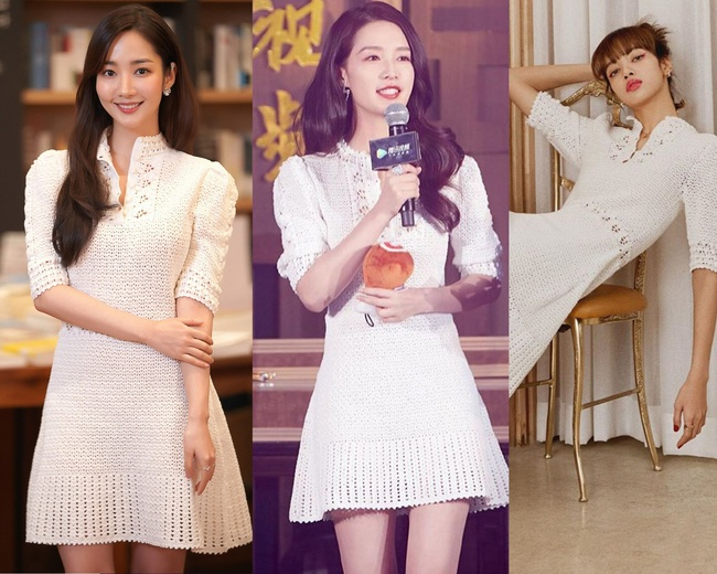 Màn đụng váy giật gân: Park Min Young lớn tuổi nhất lại được khen đẹp hơn Lý Thấm và Lisa vì đường cong quá hoàn hảo - Ảnh 4.