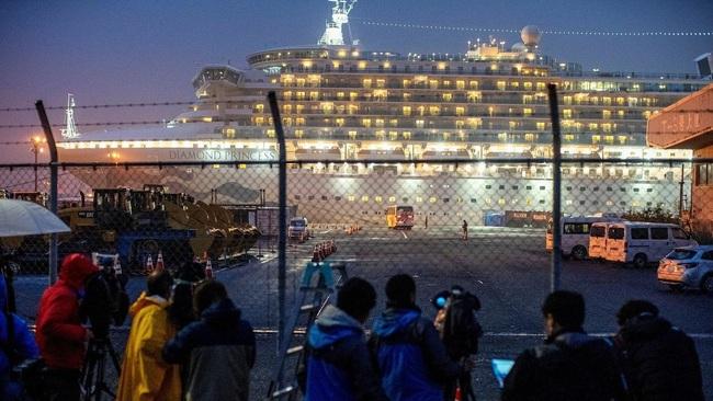Du thuyền bị cách ly ở Nhật chuẩn bị