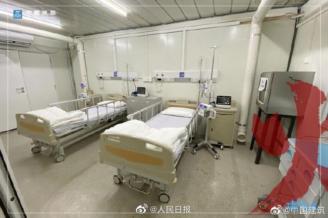 Bệnh viện chuyên trị corona tại Vũ Hán chính thức hoạt động từ hôm nay: Thành quả từ 10 ngày 10 đêm làm việc liên tục của hàng nghìn công nhân - Ảnh 14.