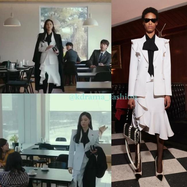 """""""Hôn thê của Hyun Bin"""" lên đồ kiểu nữ CEO và khiến người ta đứng hình toàn tập bởi thần thái cao sang ngút ngàn - Ảnh 7."""
