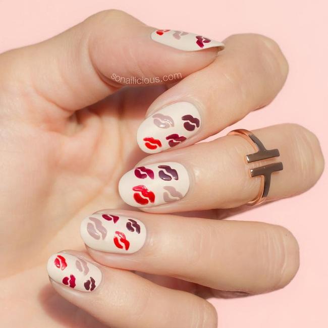 Gợi ý 14 bộ nail xinh yêu hết cỡ cho dịp Valentine, bạn mà diện thì đảm bảo cầm tay thôi cũng chiếm trọn trái tim chàng - Ảnh 5.