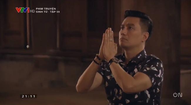 """""""Sinh tử"""" tập 59: Vừa lên chùa sám hối, Việt Anh liền giở giọng khó nghe khi suýt tông chị """"ninja Lead"""" - Ảnh 2."""