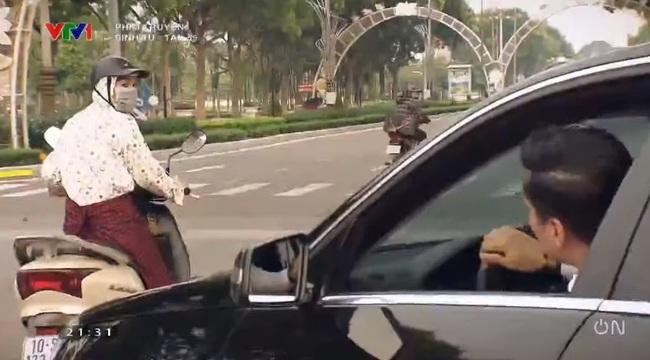 """""""Sinh tử"""" tập 59: Vừa lên chùa sám hối, Việt Anh liền giở giọng khó nghe khi suýt tông chị """"ninja Lead"""" - Ảnh 5."""