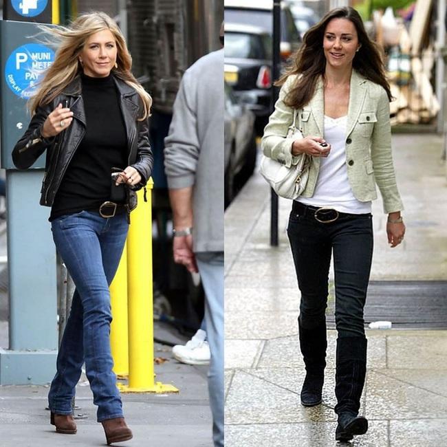 """Kate Middleton trước khi làm dâu Hoàng gia quả là """"ăn chơi"""" hết nút, nhiều lần chung ý tưởng diện đồ với Jennifer Aniston mà vẫn chất ngang ngửa - Ảnh 3."""