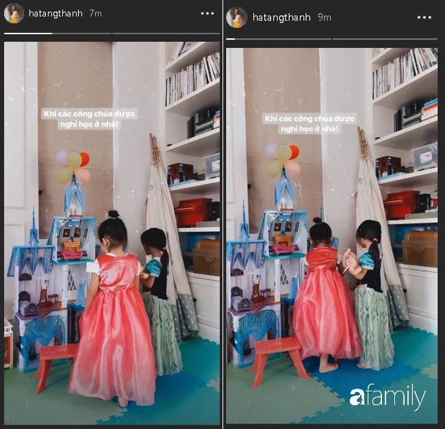 """""""Tiểu công chúa của Vbiz"""" đích thị là con gái Hà Tăng khi được mẹ sắm cho cả loạt váy bồng xòe cổ tích - Ảnh 1."""