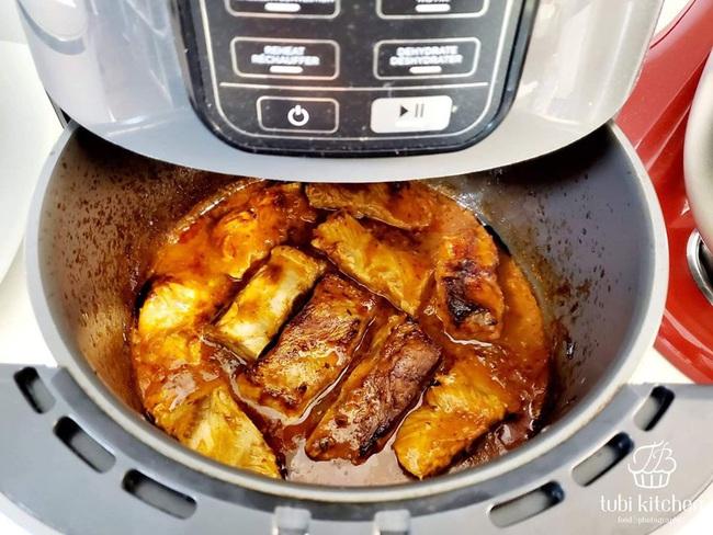 Hot Mom Huỳnh Phương Trang chia sẻ loạt bí quyết và món ăn cực đỉnh từ nồi chiên không dầu - Ảnh 17.