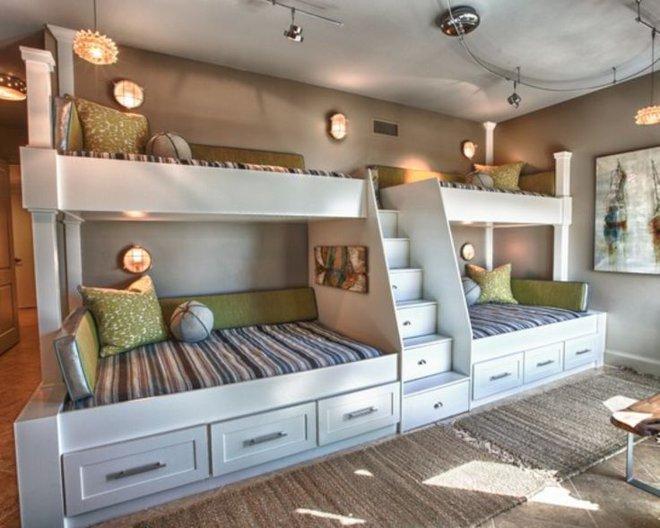 11 mẫu giường tầng đẹp, gọn cực đáng tham khảo cho những gia đình nhà chật mà đông con - Ảnh 2.