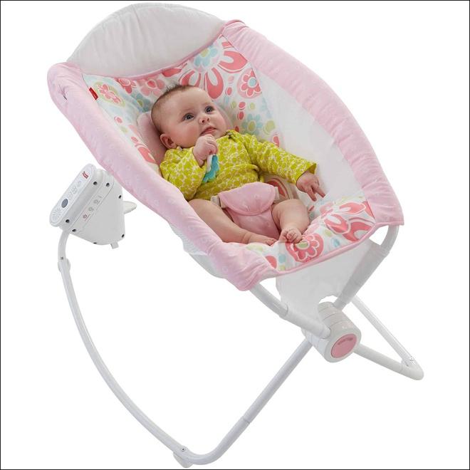 Đây chính xác là chiếc ghế rung hoàn hảo, đáng túi tiền nhất mẹ cần mua cho bé - Ảnh 2.