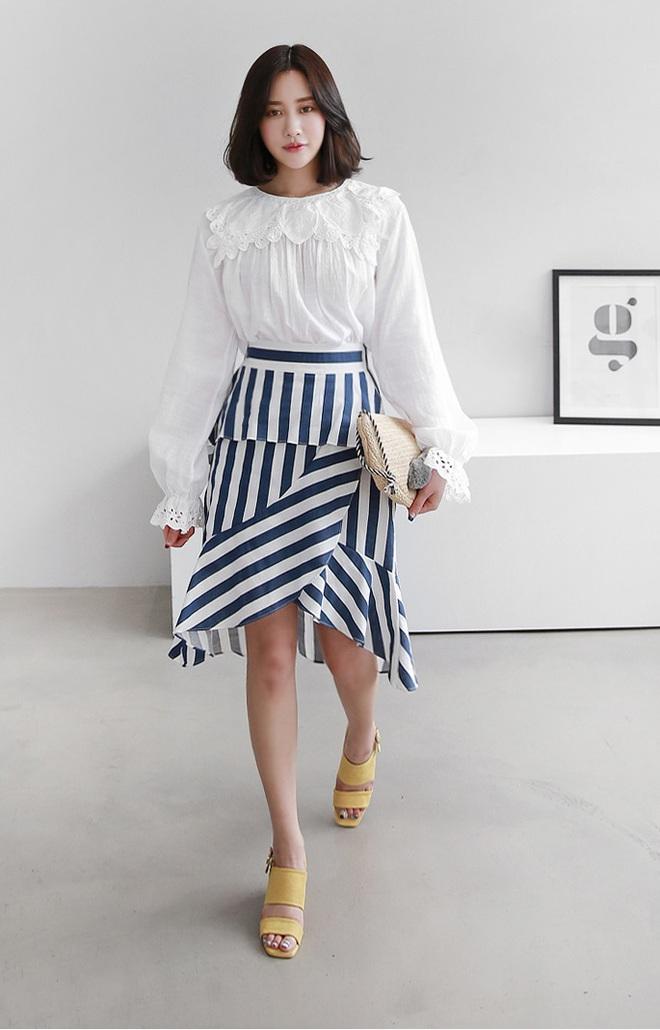 Hè này chân váy toàn những mẫu đã đẹp còn điệu khiến các nàng chẳng thể làm ngơ - Ảnh 9.