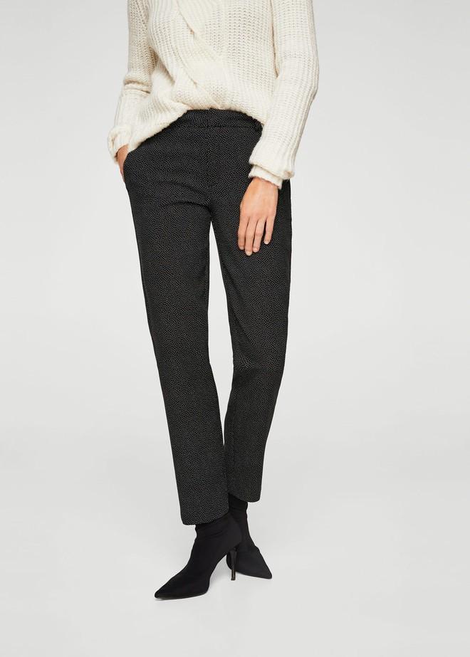 Gợi ý 15 mẫu quần dài từ Zara, Mango, H&M cứ mặc cùng boots là đẹp - Ảnh 13.