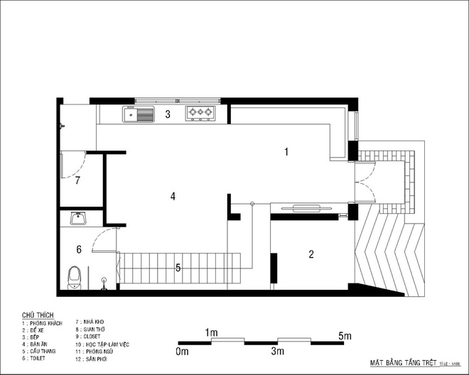 Tổng chi phí chỉ 500 triệu, ngôi nhà 2 tầng ở Bình Dương này là hình mẫu lý tưởng cho người thu nhập thấp - Ảnh 13.