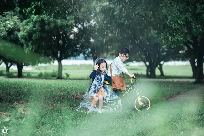 Truy lùng danh tính cặp đôi Em gái mưa phiên bản nhí trong bộ ảnh đang gây bão táp mạng xã hội - Ảnh 13.