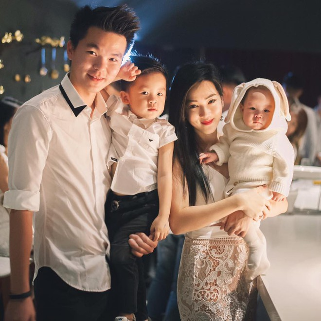 Cuộc sống như mơ của hot mom 2 con xinh đẹp: Sự nghiệp đình đám, chồng chiều, con siêu đáng yêu - Ảnh 4.