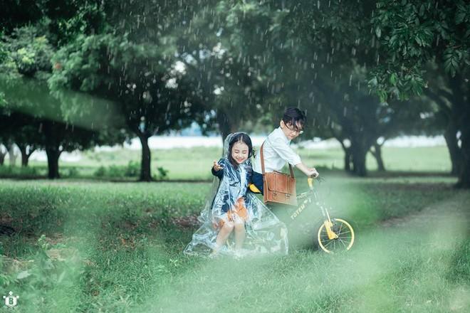 Truy lùng danh tính cặp đôi Em gái mưa phiên bản nhí trong bộ ảnh đang gây bão táp mạng xã hội - Ảnh 14.