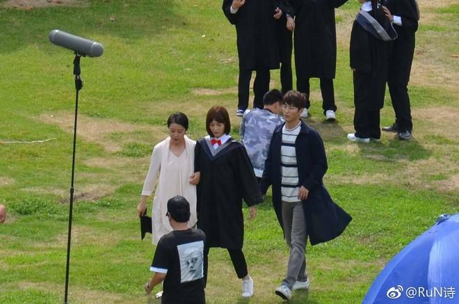 Đường Yên trẻ trung, xinh xắn trong ngày tốt nghiệp đại học - Ảnh 5.