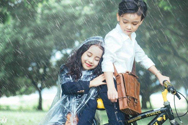 Truy lùng danh tính cặp đôi Em gái mưa phiên bản nhí trong bộ ảnh đang gây bão táp mạng xã hội - Ảnh 17.