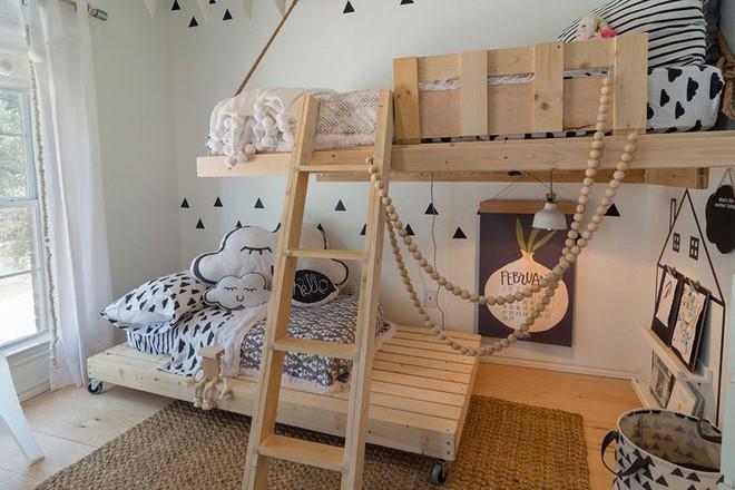 Trang trí đơn giản nhưng siêu đáng yêu, đây chính là phòng ngủ khiến mọi đứa trẻ mê tít - Ảnh 3.